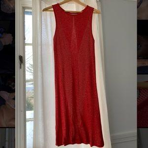 ASOS Knit Red Mini Dress size 8